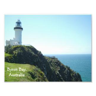 Lighthouse at Byron Bay - Australia Photo Art
