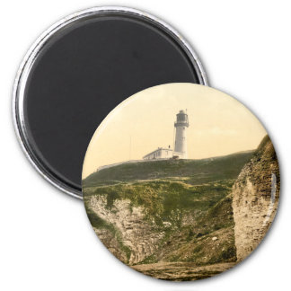 Lighthouse at Flamborough, Yorkshire, England Magnet
