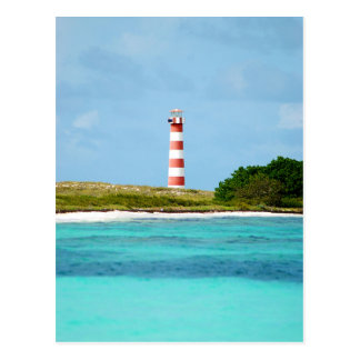 Lighthouse at Los Roques - Venezuela Postcard