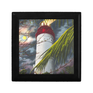 Lighthouse at night Key West, Florida Gift Boxes