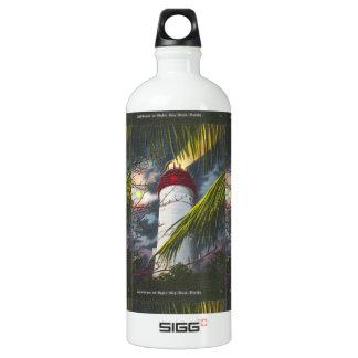 Lighthouse at night Key West, Florida SIGG Traveler 1.0L Water Bottle
