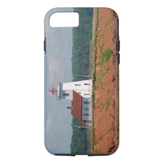 Lighthouse at North Umberland on Prince Edward iPhone 8/7 Case