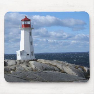 Lighthouse at Peggy's Cove Mouse Mat