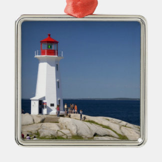 Lighthouse at Peggy's Cove, Nova Scotia, Canada. Christmas Ornament