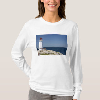 Lighthouse at Peggy's Cove, Nova Scotia, Canada. T-Shirt