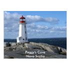 Lighthouse at Peggy's Cove Postcard