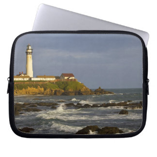Lighthouse at Pigeon Point State Beach in San 2 Laptop Sleeve
