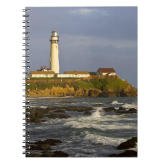 Lighthouse at Pigeon Point State Beach in San 2 Notebooks