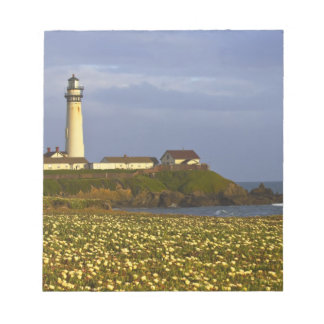 Lighthouse at Pigeon Point State Beach in San Notepad