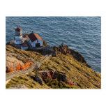 Lighthouse At Point Reyes National Seashore Postcard