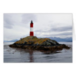 Lighthouse at the end of the world stationery note card