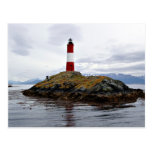 Lighthouse at the end of the world postcard