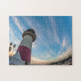 Lighthouse at the Oceanside Harbor Jigsaw Puzzle