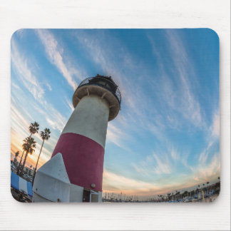 Lighthouse at the Oceanside Harbor Mouse Mat