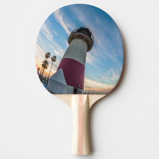 Lighthouse at the Oceanside Harbor Ping Pong Paddle