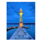 Lighthouse at the Paquis, Geneva, Switzerland Postcard