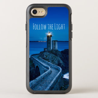 Lighthouse at Twilight OtterBox Symmetry iPhone 7 Case