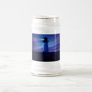 Lighthouse Beacon Beer Steins Mugs