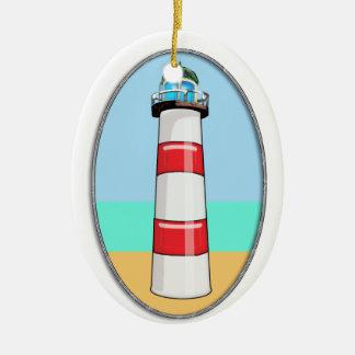 Lighthouse Beacon Christmas Ornament