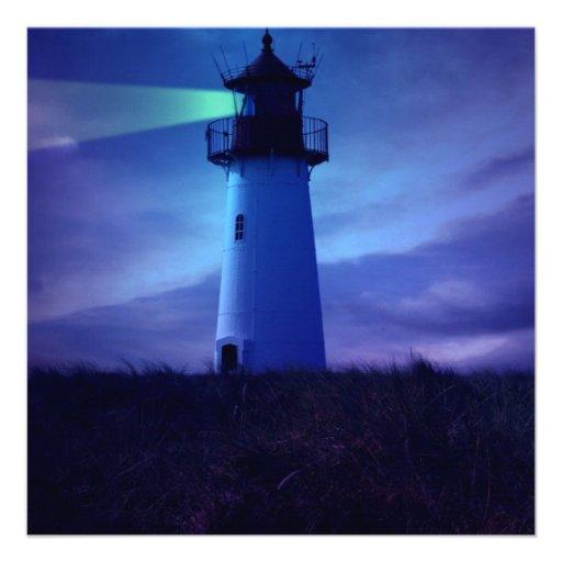 Lighthouse Beacon Invitations