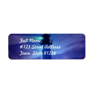 Lighthouse Beacon Mailing Label Return Address Label