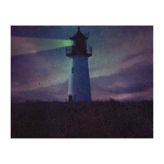 Lighthouse Beacon Cork Paper Print