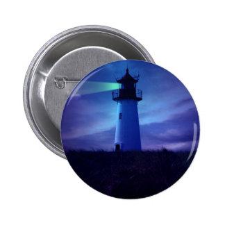 Lighthouse Beacon Round Button