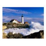 Lighthouse Beauty Post Card