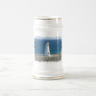 Lighthouse Beer Stein Coffee Mug