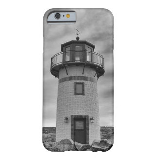 LIGHTHOUSE BLACK AND WHITE PHOTOGRAPHY BARELY THERE iPhone 6 CASE