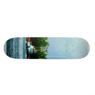 Lighthouse, Boat Nassau Bahamas Custom Skate Board