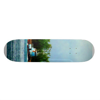 Lighthouse, Boat Nassau Bahamas Skate Board Decks