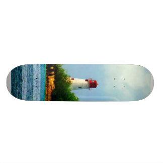 Lighthouse, Boat Nassau Bahamas Custom Skateboard