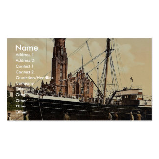 Lighthouse, Bremerhafen, Hanover (i.e. Hannover), Business Card Templates