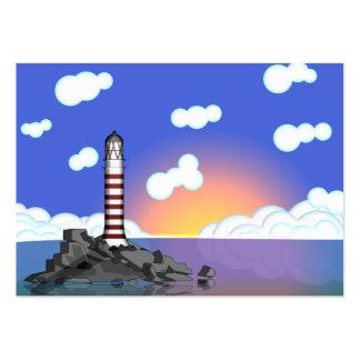 lighthouse business card templates
