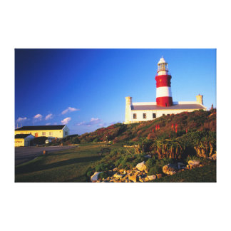 Lighthouse, Cape Agulhas, Western Cape Canvas Print