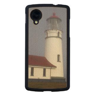 Lighthouse, Cape Blanco, Cape Blanco State Park Carved® Maple Nexus 5 Slim Case