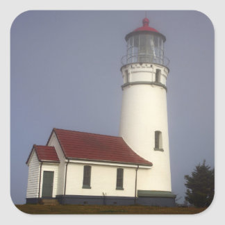 Lighthouse, Cape Blanco, Cape Blanco State Park Square Sticker