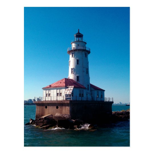 Lighthouse, Chicago's Navy Pier Postcard