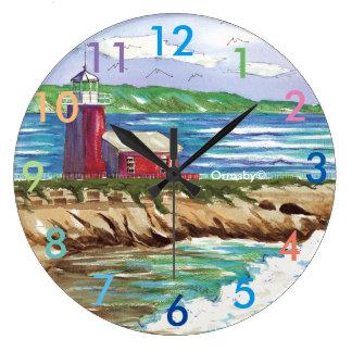Lighthouse clock - Santa Cruz
