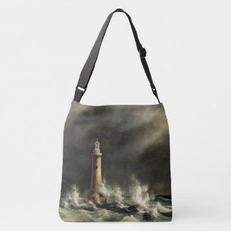 Lighthouse Coast Ocean Beacon Sea Tote Bag