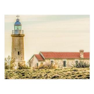 lighthouse Cyprus, Cavo Greko Postcard