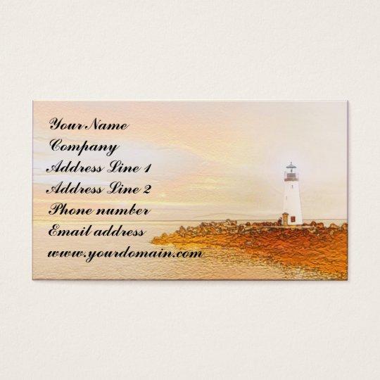 Lighthouse Design Business Card