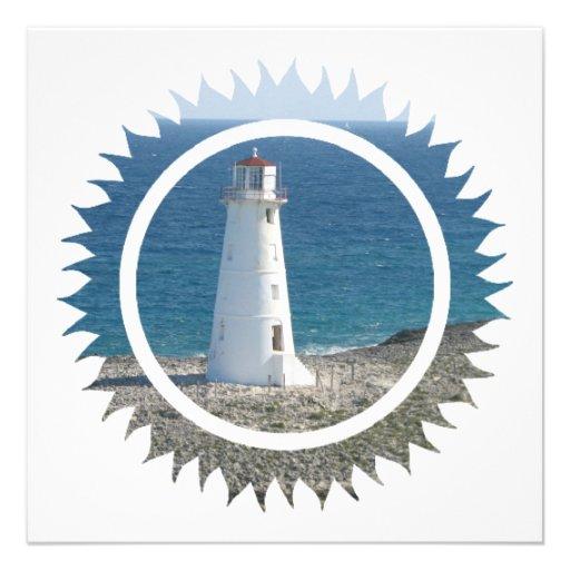 Lighthouse Design Invitation