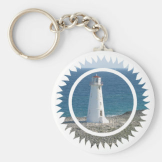 Lighthouse Design Keychain