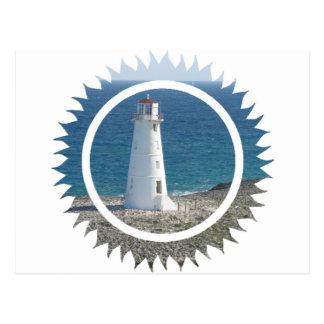 Lighthouse Design Postcard