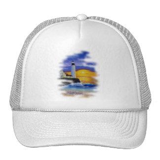 Lighthouse Dream by FishTs com Trucker Hats
