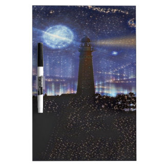 lighthouse dry erase board