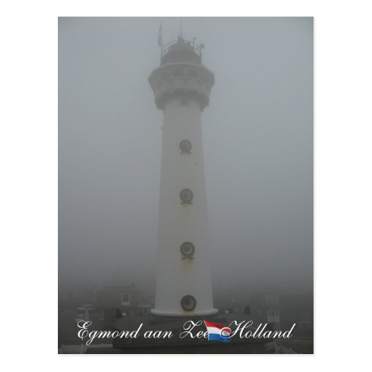 Lighthouse Egmond aan Zee Holland Postcard