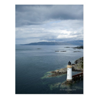 Lighthouse, Eilean Ban, Inner Sound, Scotland, Postcard